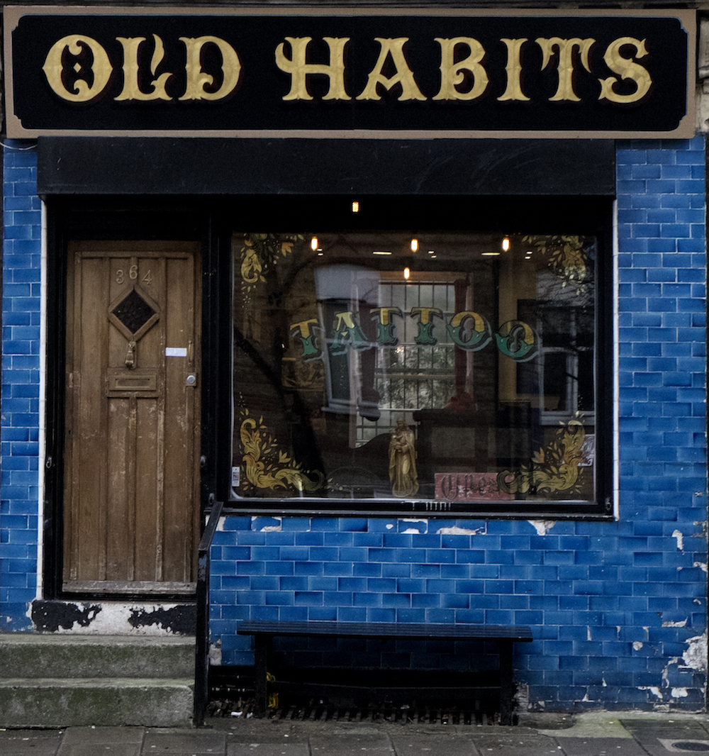 Preview visions festival old habits tattoo london for Tattoo shops in london